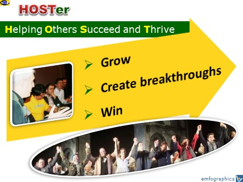 Vadim Kotelnikov - HOSTer - helping others succeed and thrive