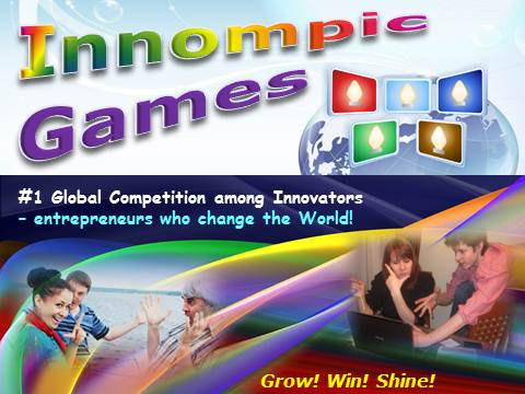 Innompic Games (Innompics) - #1 Global Competition among Innovators - Helping innopreneurs grow, win and shine!