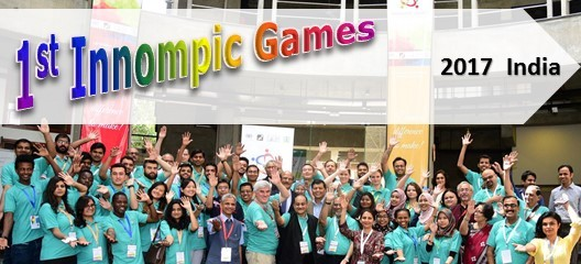 1st Innompic Games 2017 India World-changing event, Vadim Kotelnikov Russia, Rajendra Jagdale