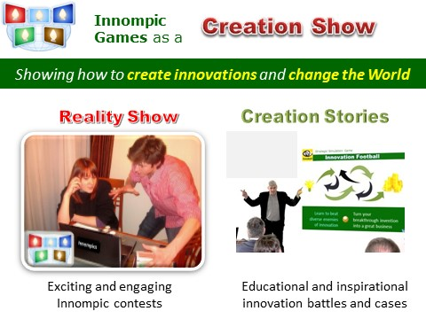Creation Show: Innompic Games
