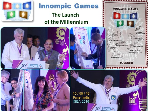 INNOMPIC GAMES - the Launch of the Millenium, ISBA 2016, India
