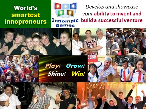 Innompic Games - boosting innovations globally, benefits for all