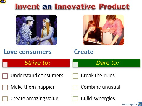 How Tp Invent a New Product - love customers, create, Vadim Kotelnikov Dennis