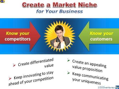 How Tp Create a Market Niche, stand out from the competition