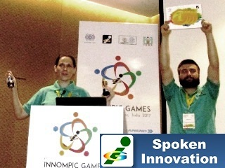 1st Innompic Games, Russian team, KoRe 10 Innovative Thinking tools, Ksenia Kotelnikova, Magomed Gamzatov