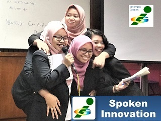 Innompic Games fun presentation IPMA 2018 Malaysia university students