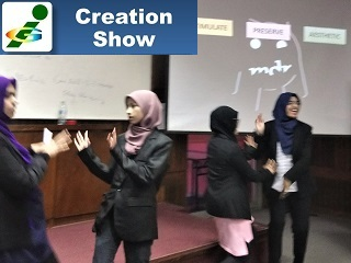 Creation Show Malaysia University Innompic Games 2018 student team entrepreneurial creativity