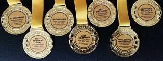 Innompic Games awards medals