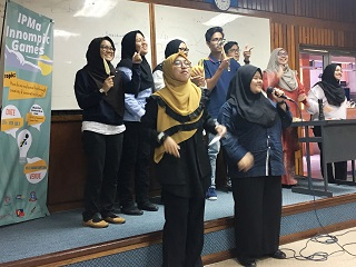 KPMSI student team performs at IMPA Malaysia University Innompic Games 2018
