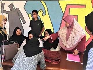 Intellectual Teamwork: KPMSI college student team is addressing a creative challenge, Malaysia Innompic Games 2018