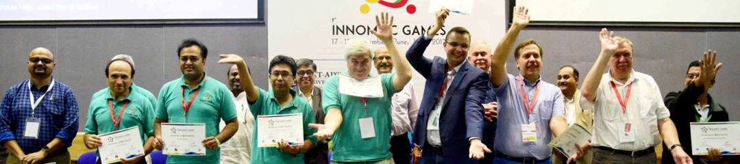 Judges 1st Innompic Games 2017 India, Jury Members, Mike Zelin Best Judge