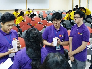 Innompic Games 2018 Intellectual Teamwork Innoball Malaysia Vietnam Russia India