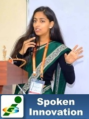 Spoken Innovation contest Suprima Poudel KUSOM Nepal World Innompic Games