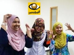 Innovation Football game fun, Malaysia girls