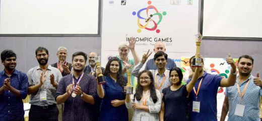 World's Best Innovators 2017 India team, 1st Innompic Games