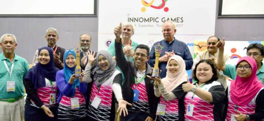 World's Best Innovation Team in Intellectual Teamwork, Malaysia, 1st Innompic Games 2017