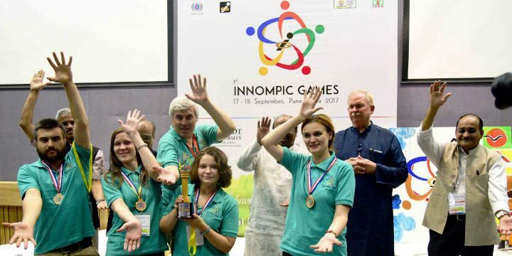 Best Innovation Team: Russia, 1st Innompic Games 2017, India