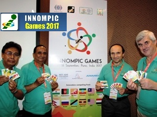 1st Innompic Games 2017, Judges, Gold Coin cards, WOW cards