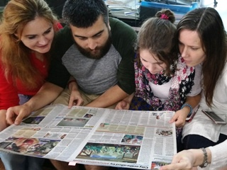 Russia World's Best Innovation Team, newspaper artcile, 1st Innompic Games, India