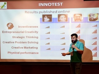 INNOMPUS - INNOTEST World's Best Innovation City presentation, 1st Innompic Games, Magomed Gamzatov