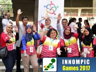 Malaysia innovation team, 1st Innompic Games 2017 India