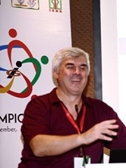 Vadim Kotelnikov 1st Innompic Games Founder Global Coordinator laughing