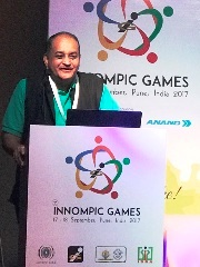 Rajendra Jagdale, 1st Innompic Games Pune India 2017 Opening Ceremony