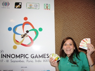 Ksenia Kotelnikova 1st Innompic Games award winner Most Brilliant Ideas, WOW cards