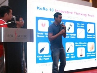 Innompic Games Malaysia introduction KoRe 10 Innovative Thinking Tools