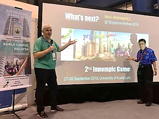 Vadim Kotelnikov, Othman Ismail, creative marketing of 2nd Innompic Games 2018, What's Next? WNSA, Singapore Air Show, #Innompics, Innompics, #WNSA