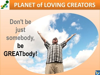 Innompic Planet of Loving Creators Be GREATbody Vadim Kotelnikov advice